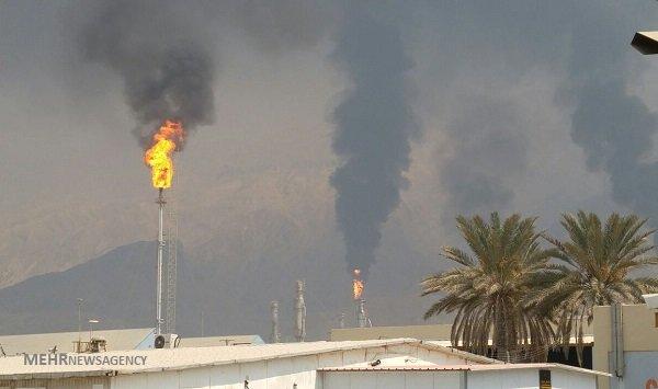 Image result for آلودگی عسلویه