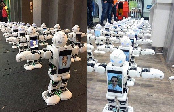 رباتها در صف خرید آیفون 7 (+عکس)