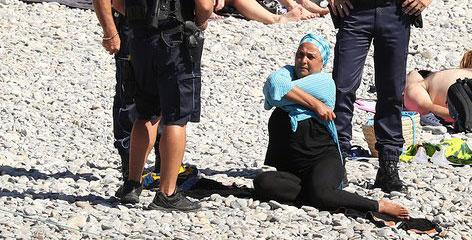 جنجال مایو اسلامی در فرانسه (+عکس)