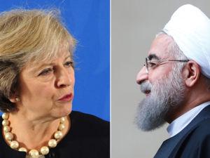 دیدار روحانی و نخست وزیر انگلیس / دیدار ظریف و همتای کانادایی