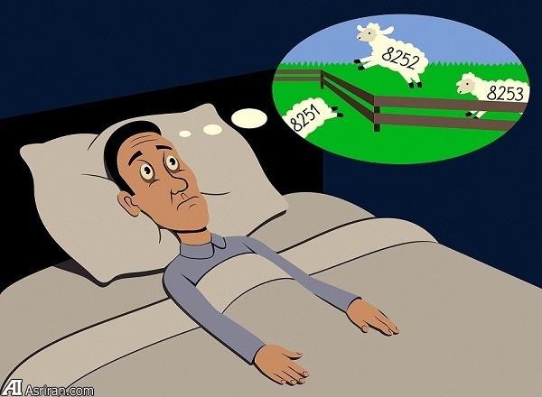 نتیجه تصویری برای بیخوابی