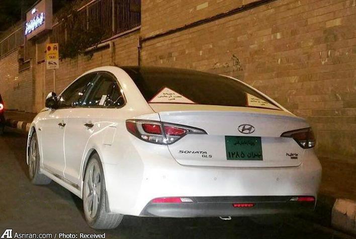 هیوندا سوناتای جدید هیبردی در حال آزمایش فنی در ایران (+عکس)