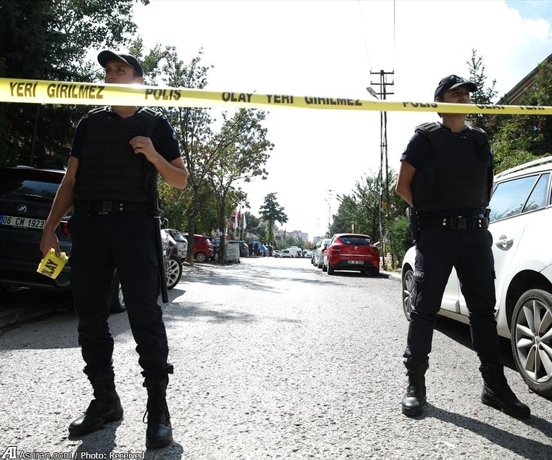 حمله به سفارت اسراییل در آنکارا (+عکس)