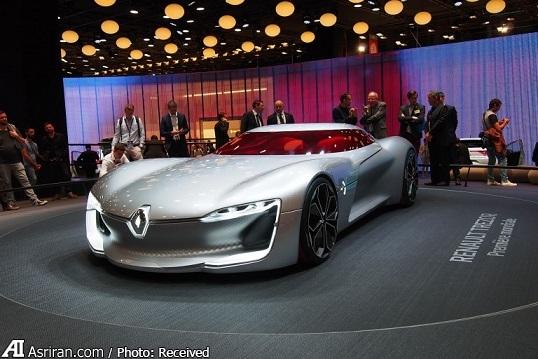 5 خودروی مفهومی برتر نمایشگاه پاریس