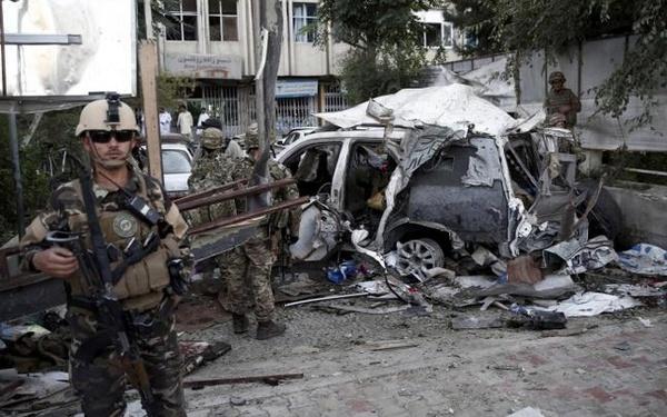 6 کشته و 35 زخمی در انفجار تروریستی افغانستان