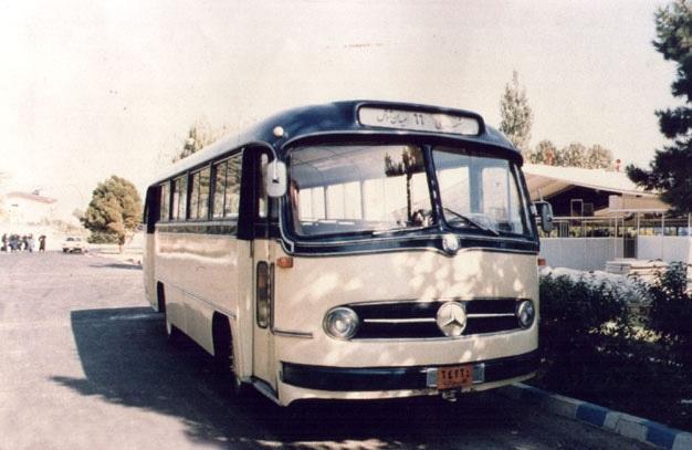 اتوبوس دهه 40 تهران (عکس)