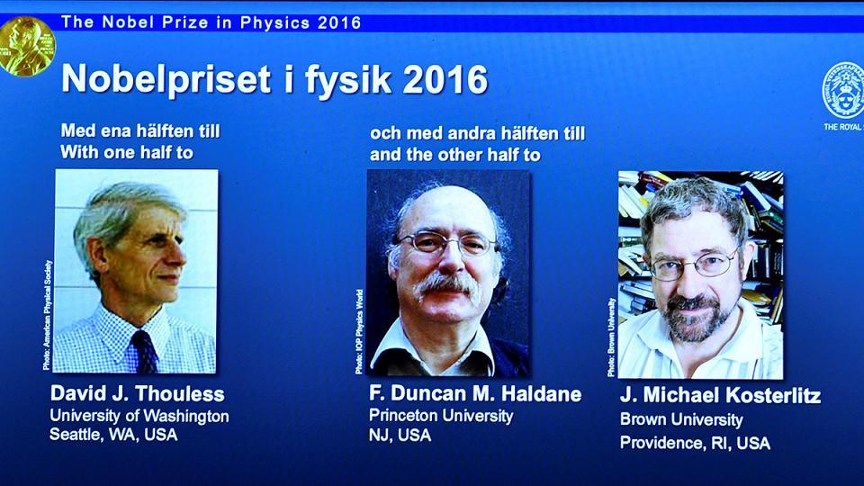 نوبل فیزیک به 3 بریتانیایی رسید