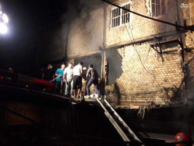 علت آتشسوزی پاساژ قائم خرمآباد هنوز در دست بررسی است