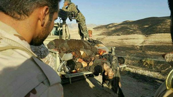 کشته شدن 12 تروریست در درگیری مسلحانه در منطقه مرزی کرمانشاه (+عکس)