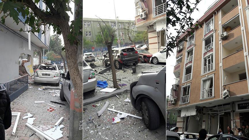 انفجار در نزدیکی یک مرکز پلیس استانبول (+عکس)