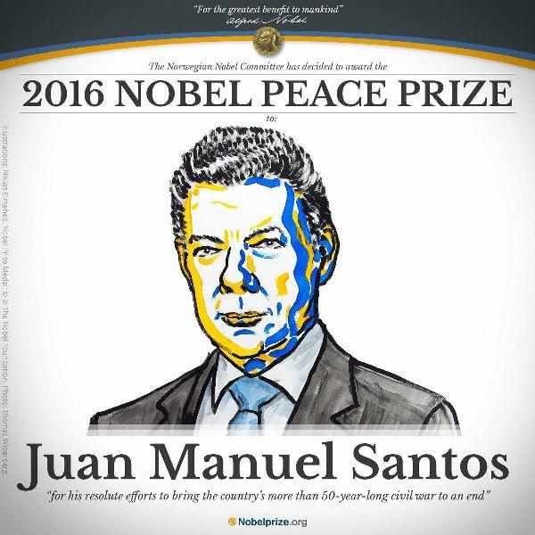 صلح نوبل 2016، نجات یک صلح