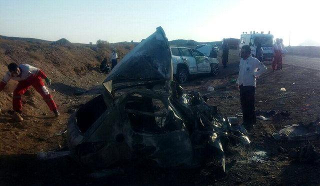 جزئیات و تصاویر تصادف مرگبار لکسوس نماینده تهران در اردکان