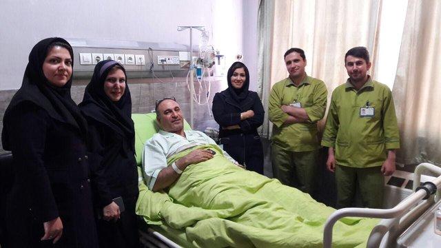 حمید فرخنژاد بستری شد (+عکس)