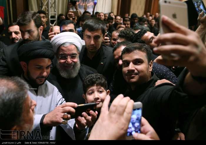 روحانی در مراسم عزاداری محرم در تایلند (+عکس)