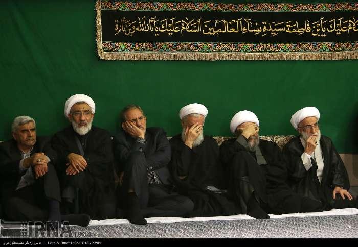 دومین شب مراسم عزاداری حضرت اباعبدالله الحسین(ع) برگزار شد (+عکس)