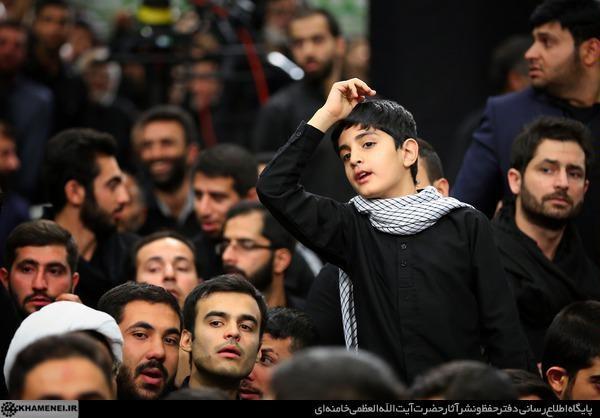 مراسم عزاداری شب تاسوعای حسینی با حضور رهبر معظم انقلاب برگزار شد