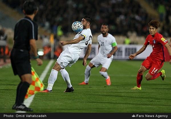 پیروزی شش امتیازی ایران مقابل کره(گزارش تصویری)