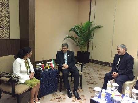 سفر وزیر ارشاد به اندونزی و دیدار با وزیر فرهنگ تیمور شرقی (+عکس)