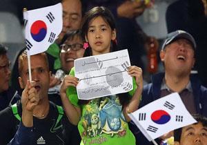 دختر کره ای آرزوی ملاقات با کریمی را دارد