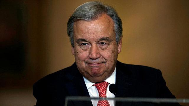 گوتیرش دبیرکل سازمان ملل شد