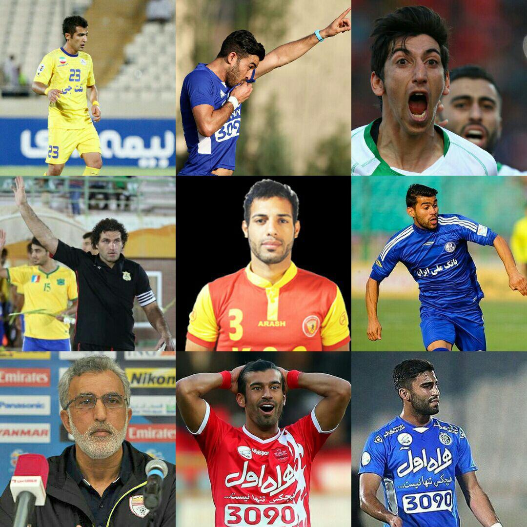 10 چهره برتر هفته هشتم لیگ برتر