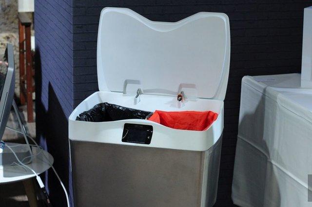 سطل زباله هوشمند برای آموزش تفکیک زباله (+عکس)