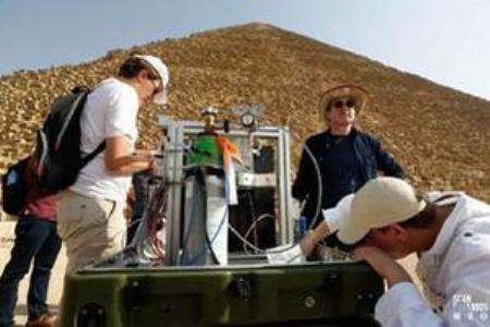 کشف 2 حفره جدید در بزرگترین هرم مصر