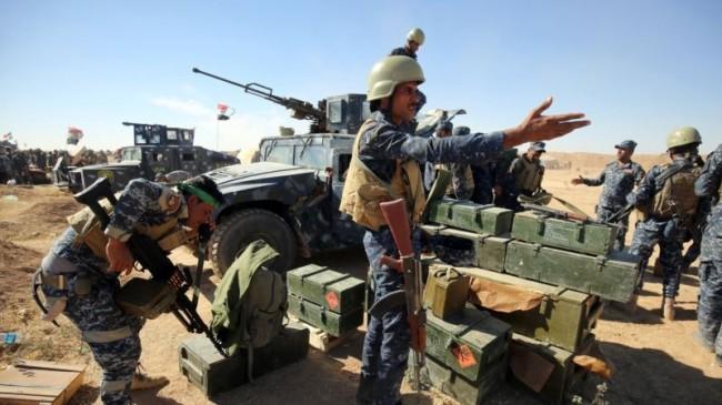 آغاز عملیات آزادسازی موصل از داعش / بمباران شدید توپخانه ای و موشکی موصل/ آماده سازی 5 اردوگاه برای آوارگان