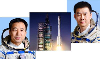 اعزام 2 چینی به فضا
