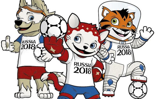 رونمایی از 3 نماد جامجهانی روسیه/ گربه، ببر یا گرگ؟ (+عکس)