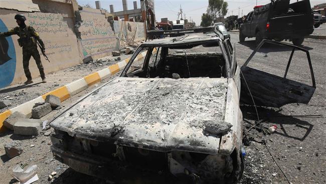 3 انفجار در تکریت عراق / 12 کشته