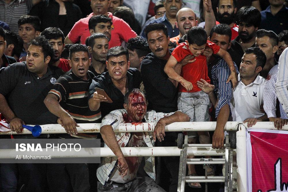 خون بازی در اهواز، آرامش در تهران
