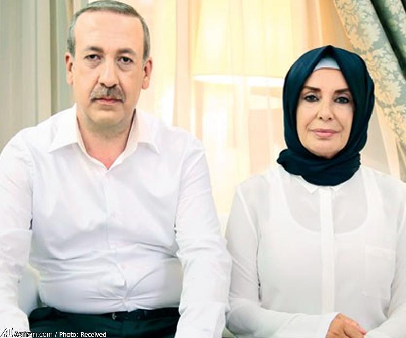 نقش های بدل  اردوغان و همسرش (+عکس)