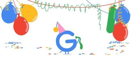 تولد 18 سالگی گوگل (+عکس)