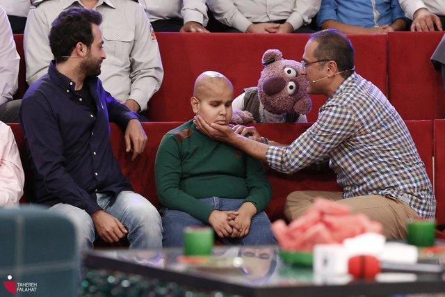خندوانه آرزوی کودک سرطانی را برآورده کرد