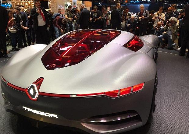 خودروی عجیب رنو امروز در نمایشگاه پاریس شد (+عکس)