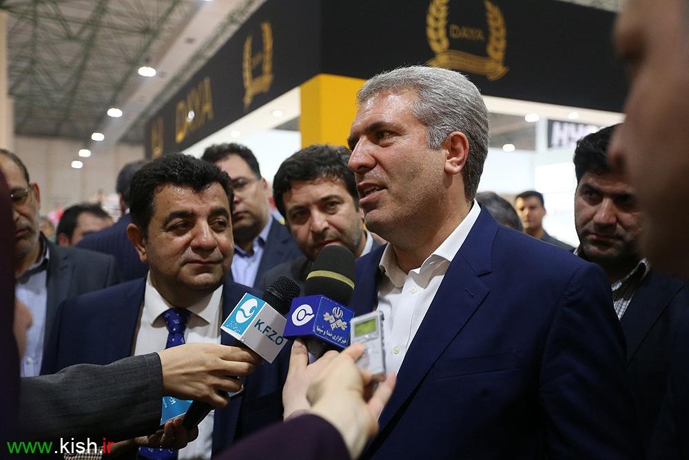افتتاح نمایشگاه بین المللی صنایع غذایی در کیش