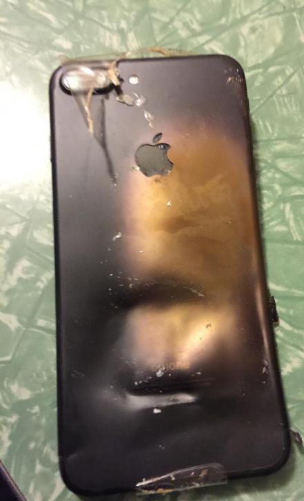 انفجار آیفون 7 کاربران را نگران کرد (+ عکس)
