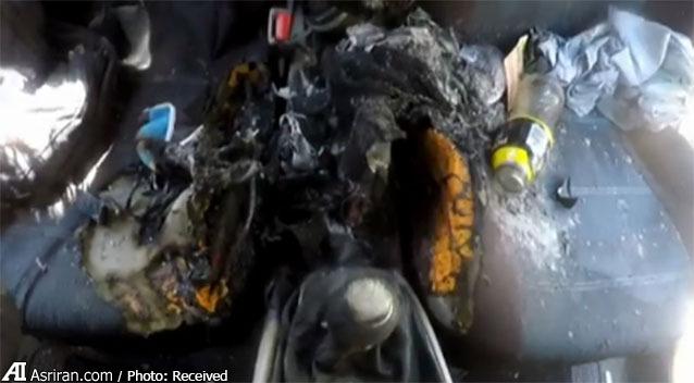 آیفن 7 خودرو را به آتش کشید