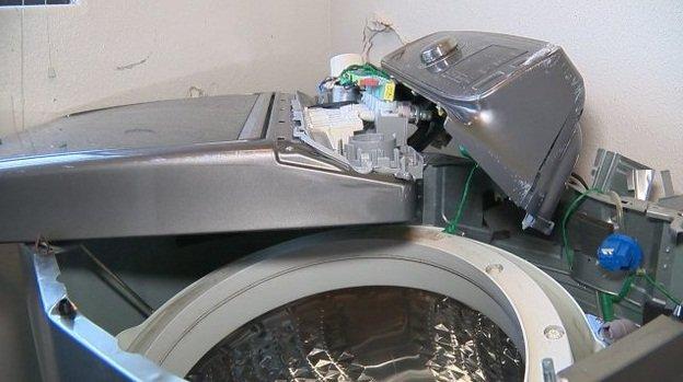 ماشینهای لباسشویی سامسونگ هم منفجر میشوند (+عکس)