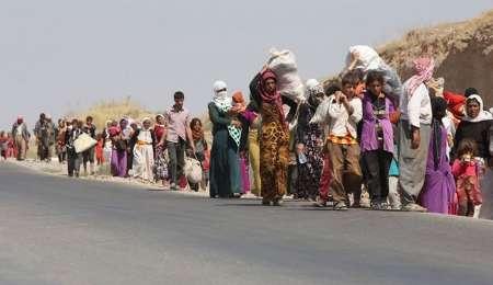داعش ده ها خانواده را به اجبار از تلعفر به مرزهای سوریه منتقل کرد