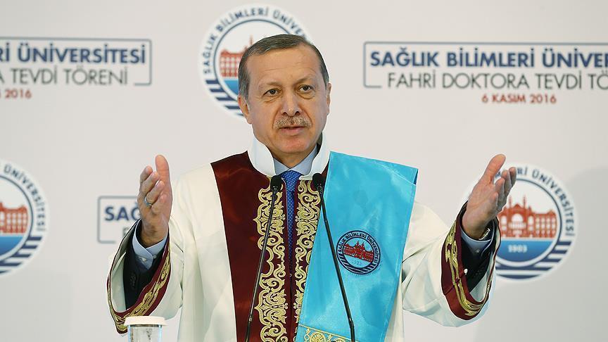 اردوغان: اهمیتی ندارد به من بگویند دیکتاتور؛ از این گوش وارد و از آن گوش خارج می شود