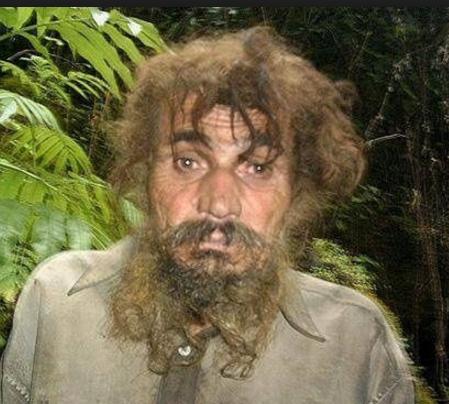ثبت مرد غارنشین در سرشماری (+عکس)