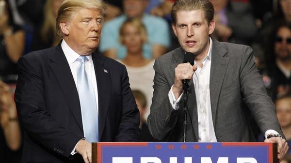 فرزند ترامپ در نیویورک رای داد