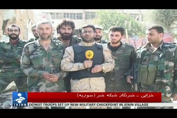 شهادت خبرنگار صدا و سیمای ایران در سوریه