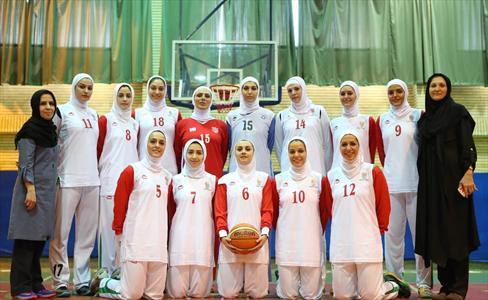 تیم بسکتبال بانوان