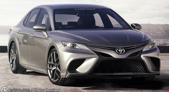 خودروهای آینده: تویوتا کمری 2018 در رقابت با مزدا 6 و فورد فیوژن