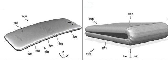 گوشی هوشمند تاشو سامسونگ سال آینده میآید (+عکس)