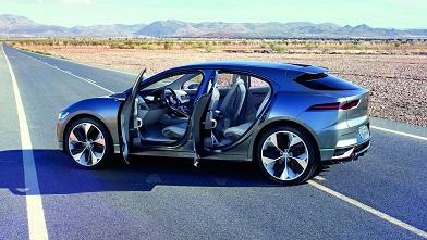 خودروی برقی آینده جگوار را ببینید