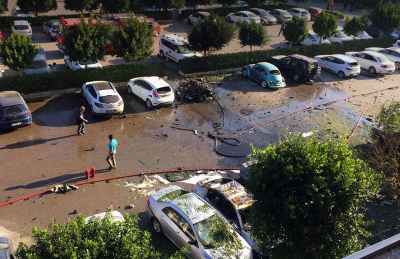 فوری: انفجار در آنتالیا